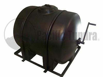 125 Gallon Asphalt Sealcoating Tank - Hand Agitated - 12500 Sq Ft - Steel Frame