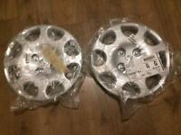 2 brand new Peugeot wheel trims