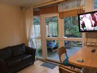 Room in garden flat, Putney Heath