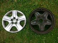 "Vauxhall 17"" wheel hub unit x4"
