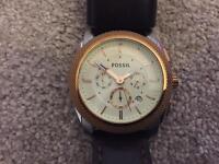Fossil Mans watch