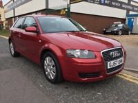AUDI A3 2.0 TDI SPECIAL EDTION 57 PLATE ALLOYS F/S/H