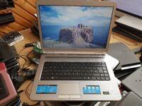 sony vaio pcg-7144m windows 7 160g hard drive 2g memory wifi charger dv