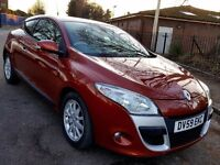 2009 RENAULT MEGANE COUPE 1.5 DCI DIESEL, CREAM LEATHER SEATS, SERVICE HISTORY