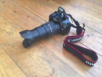 CANON EOS 550D HD VIDEO RECORDING CAMERA TAMRON AF 18-200MM F/3.5 MACRO LD XR DiII LENS