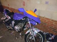 Rieju rs2 125 matrix Street Fighter Project