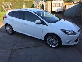 Ford Focus 1.0 SCTi EcoBoost Zetec, 5dr, Bluetooth, Manuel, No Accidents/Scratches/Dents