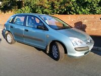 Honda Civic S 1.4, low mileage 61000, new front tyres