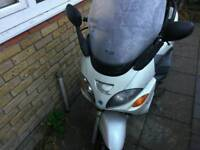 Must go today my 125cc piaggio x9 Bike is 03 plate