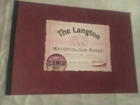 Large watercolour pad