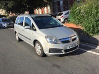 7 Seats New shape Vauxhall Zafira in very good condition,long mot ,px welcome