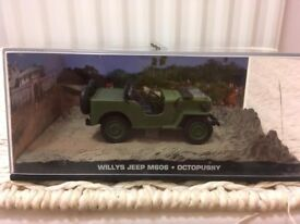 1:43 Willys Jeep M606 - JAMES BOND COLLECTION - Octopussy - FABBRI