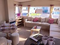 Caravan to rent Crimdon Dene - platinum grade - very warm and cosy