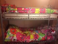 BUNK BEDS BRILLIANT CONDITION NOT EVEN 1 YEAR OLD BOUGHT FROM VERY