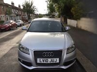 Immaculate Audi 3 1.4 Turbo 3door S Line low mileage, full service history