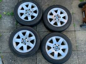 BMW E46/E36 wheels and winter tyres