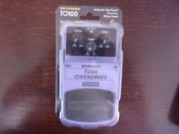 Behringer Tube Overdrive Effects Pedal