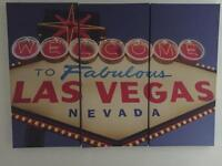 LAS VEGAS WALL CANVAS