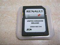 RENAULT SAT NAV SD CARD NAVIGATION 25920 4051R TOMTOM 259204051R