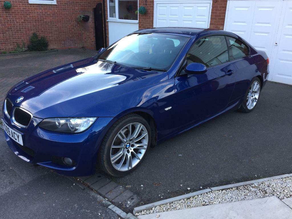 2009 Bmw 320i Coupe Msport Manual Blue In Castle Bromwich West Midlands Gumtree