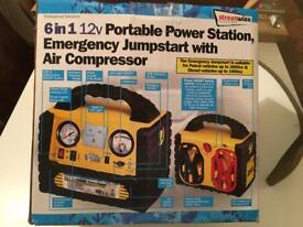 Streewize 6 in 1 portable power station