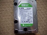 WD internal hard drive (2 TB)