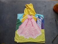 Girls Princess & Fairy hooded swim towels £3 each or £5 for both