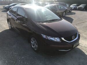 2015 Honda Civic LX A/C BLUETOOTH CAMERA DE RECUL