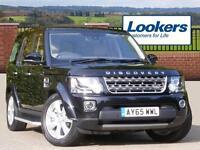 Land Rover Discovery SDV6 SE TECH (black) 2015-09-04