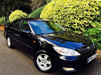 *AUTO BOX+LEATHER* TOYOTA CAMRY 3.0 VVTI CDX + FULL TOYOTA HISTRY + ONE OWNR + 3KEYS + MINT CONDTN!