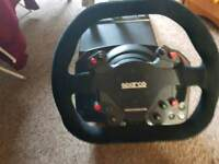 Xbox-pc Thurstmaster steering wheel