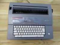 Portable Electric Typewriter Smith CORONA SL470 with four spare correctable ribbons