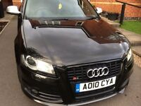 Audi S3 Black Addition - V.Good condition-2 owners full service history-New tyres-New cam belt @55k-