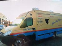 Iveco 50C Butcher/Mobile Shop
