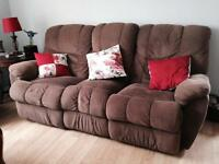 Double reclining couch!