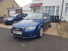 LOW MILEAGE,HPI CLEAR,2007 AUDI A4 SLINE 2.0 DIESEL AUTO,FULL SERVICE HISTORY FROM AUDI,TEO KEYS