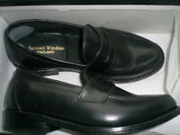 Size 6 Black Shoes - Samuel Windsor Classic Collection