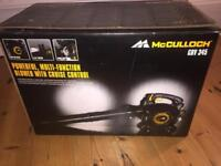 McCULLOCH Multi function Leaf blower/hoover