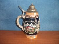 Vintage German Ceramic Beer Stein