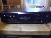 Sony TC-KE600S Dolby S 3-head 3-motor stereo cassette recorder - 2 new belts fitted