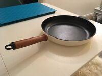 Iron cast frying pan