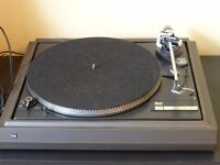 Dual CS505 turntable. Working but no cartridge or lid