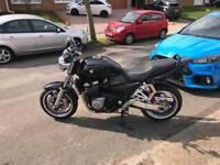 SUZUKI GSX 1400 MOTORBIKE