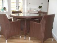 Marks & Spencer 'Portofino' Immaculate 5pc Conservatory/Patio Furniture Set
