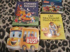5 x childrens books