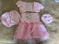 Baby Girls Satin Dress/Outfit/Set***18-23 months***