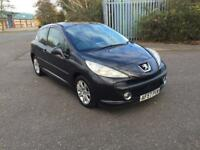 2007(57) PEUGEOT 207 SPORT HDI 90 1.6 TURBO DIESEL 90 BHP MOT NOVEMBER 2018 NO ADVISORYS £30 TAX