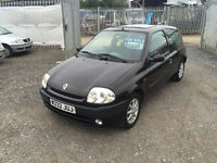 RENAULT CLIO 1.4 S 12 MTHS MOT CHEAP TAX AND INSURANCE PX WELCOME CARDS TAKEN