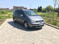 PCO Registered SEAT Alhambra 7 Seater Automatic Only £3150