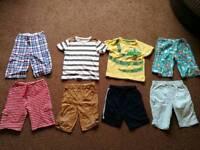 Bundle of boys 4 - 5 years clothing incl Jojo Maman Bebe shorts